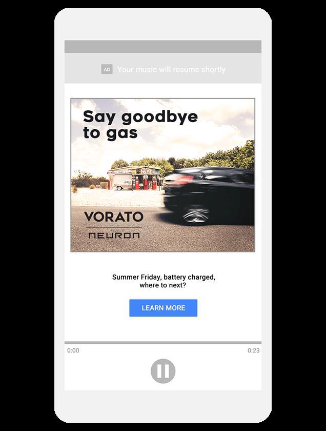 オーディオ広告(Audio Ad)